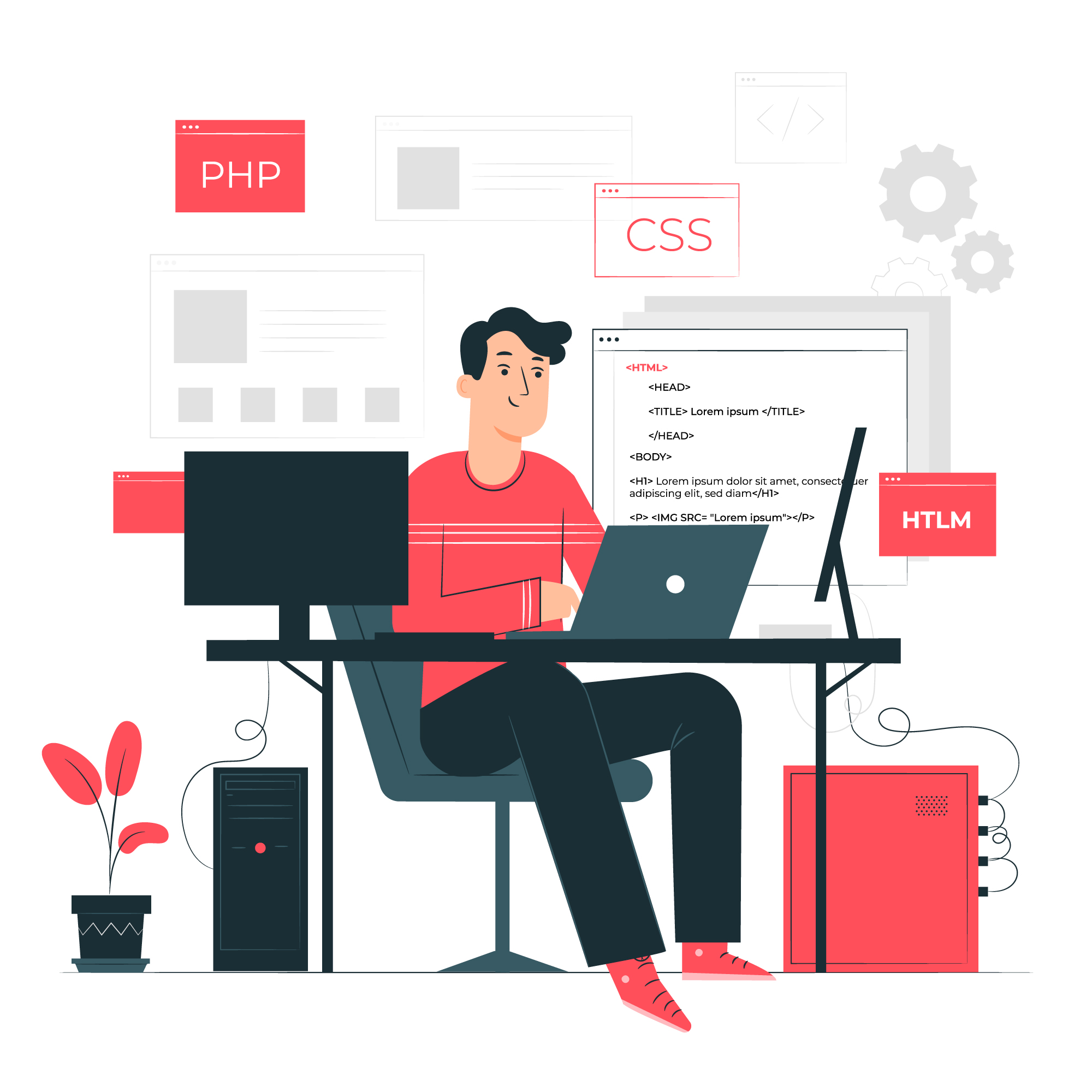 image developpeur web